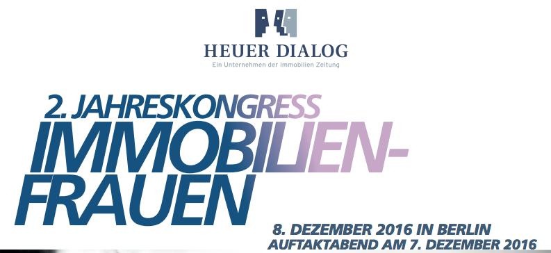 Martina Schäfer spricht auf dem Jahreskonkress für Immobilen-Frauen am 8. Dezember in Berlin